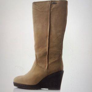 EMU Australia Heighton Hi knee high wedge boots